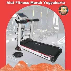 Treadmill Elektrik 3 fungsi TL-123M Jogja / Treadmill Murah Sleman