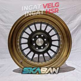 Jual Velg Racing HSR WHEEL Ring 17 Utk Baleno, City, Vios