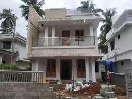 A STRIKING NEW 3BED ROOM 1500SQ FT 4.4CENTS HOUSE IN MANNUTHY,THRISSUR