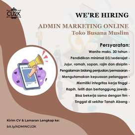 Marketing Online Toko Baju Muslim