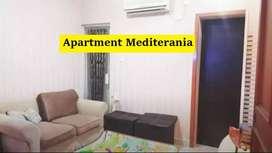 Apartment Mediterania Kelapa Gading Tower A Lt.25(Uk.42m) Murah
