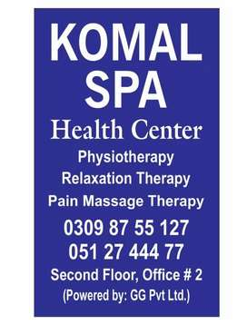 Komal Spa Heath Center Bahria Town Civic Center
