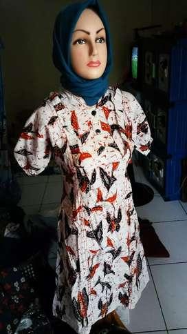 Dress batik cakep mulus