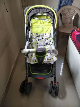 LuvLap Sunshine Stroller/Pram, Easy Fold, for Newborn Baby/Kids, 0-3 Y