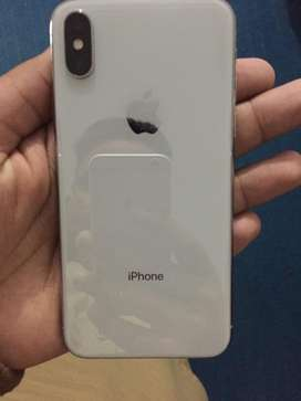 Iphone x for sale 256 gb complete box 100% condition