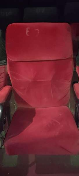 Different types of theatre chair