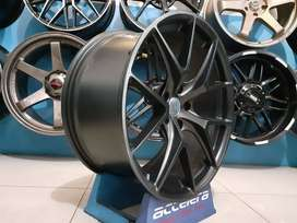 Velg cabrio mercy BMW Landrover Hre P1 19x8.5-9.5 5x120 Flat Black2
