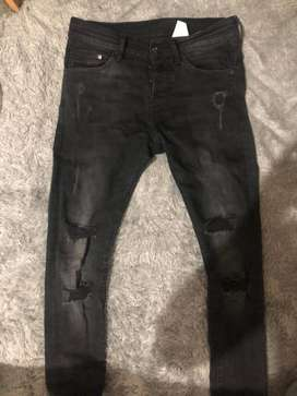 ripped jeans hnm/h&m