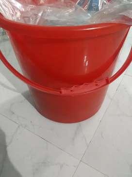 Sale bucket @100₹ , covered bucket & tub @150₹ each