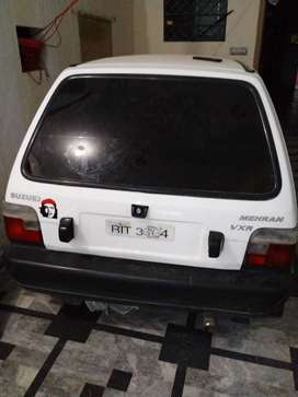 Mehran Taxi 1990 white color pindi regostred