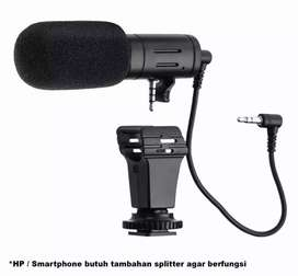 MAMEN Camera DSLR Shotgun Microphone 3.5mm - MIC-06