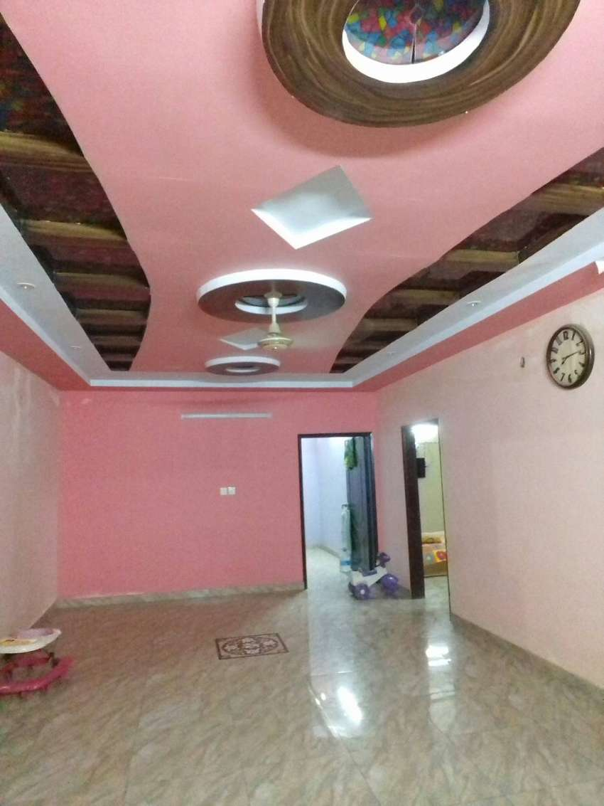 3bed d,d with roof in nazimabad no3 block 3c 0