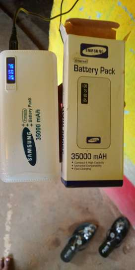Samsung powerbank 35000 mah only 700 rupees new condition one day old