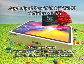 """New IPAD PRO 2020 11"""" 256GB CELLULAR(NEW) -Bs COD/Tt/Kredit sistem DP"""