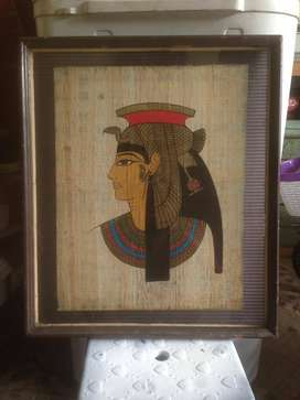 Pajangan antik sovenir spinx cleopatra