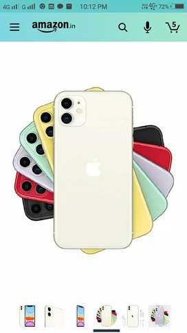 I phone 11Available  8 pec available 2 black 7 white
