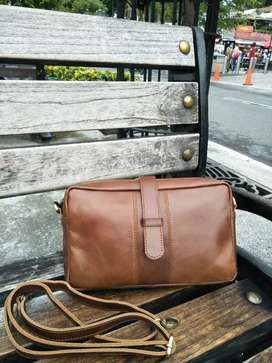Handbag Kulit Pull Up