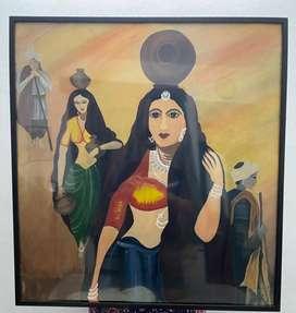 Wall Hanging Rajasthani Painting