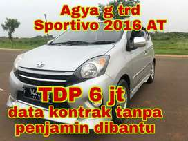 Agya g TRD 2016 AT data kontrak dibantu