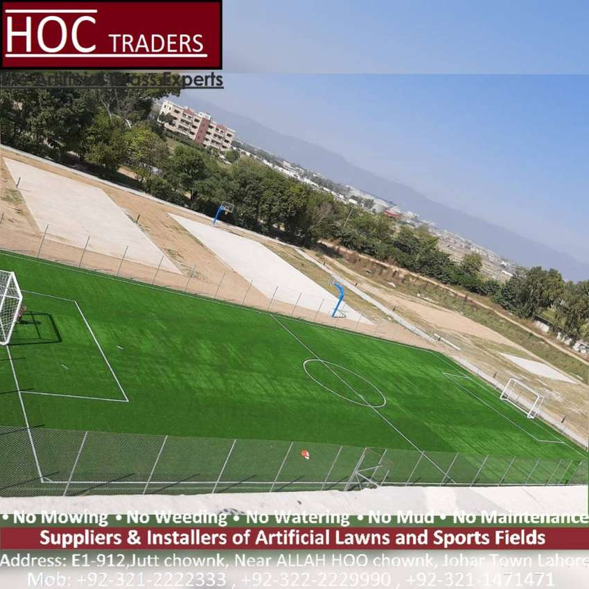 HOC TRADERS artificial grass and astro turf, sports surfaces