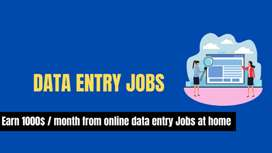 Genuine payout- Online Data Entry/ Typing Job -Full Time and Part Time