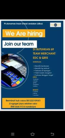 Dicari Marketing Merchant BCA Freelance / Fulltime