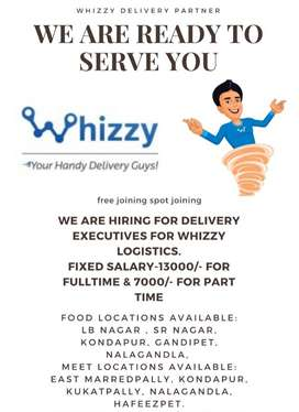 JOIN NOW IN WHIZZY AS DELIVERY PATNER