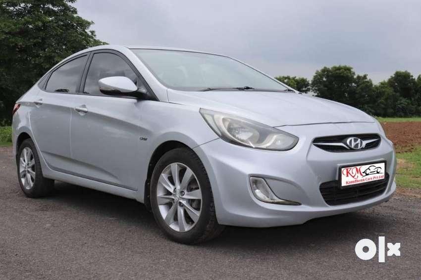 Hyundai Verna Fluidic 1.6 CRDi SX, 2012, Diesel 0