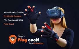 Virtual Reality Gaming zone for sale@ Guntur