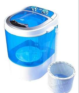 New//Mini Washing Machine with Dryer Basket (DMR 30-1208 (W2Yr)