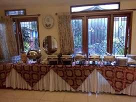 Catering prasmanan dan dekorasi
