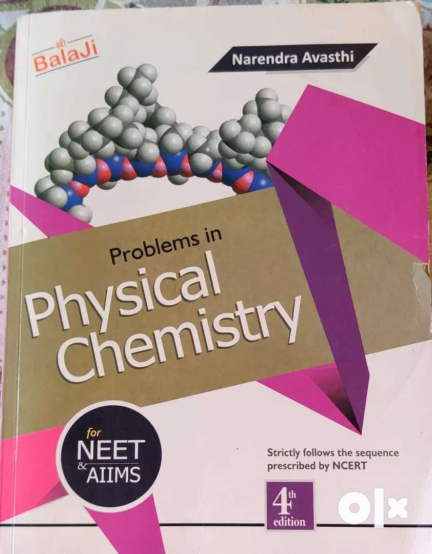 Narendra Avasthi's problems in Physical Chemistry 0