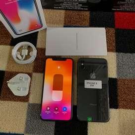 Iphone X 256Gb semua kartu bisa