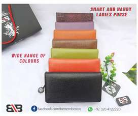 Smart and handy Ladies purse made of Genuine Leather