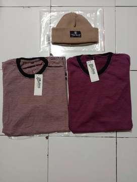T-shirt mules&beani hat heyho