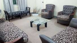 Drawing room set (sofa+center table)