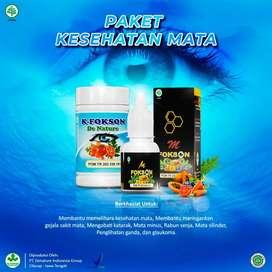 Kapsul K-Fokson Obat Kesehatan Mata Herbal De Nature Asli