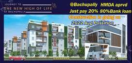 Luxury 2BHK Flats in Luxury Gated community@Miyapur to Bachupally Road