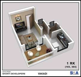 1rk flat sale with reasonable price at new panvel