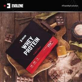 Evolene Whey Protein 12 Sachet 456 gram 1 Lbs / bubuk powder suplemen