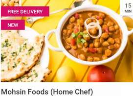 Home Cooked Food for Daily, Weekly and Monthly Packages