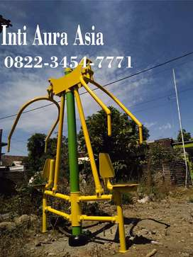 JUAL ALAT FITNESS OUTDOOR TERMURAH - CHEST PRESS TWO SEATS