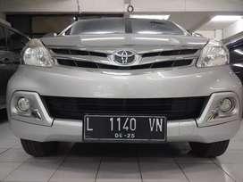 Mobil Toyota Avanza G Manual 2015 KM 59rb Silver Plat L