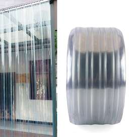 Imported PVC Curtain Ribbed for Sale in clearance stock