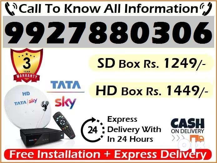 Tata Sky violas New HD BOX-Tatasky Dish D2H videocon Dish DTH-best off 0