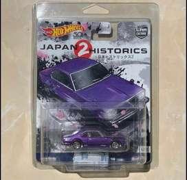 Hot wheels Premium Nissan Skyline C210 Japan Historics 2
