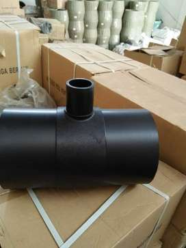 Jual aksesoris pipa hdpe, stub end, socket, reducer, elbow, tee hdpe