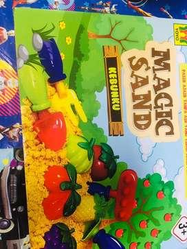 Mainan anak magic sand baru