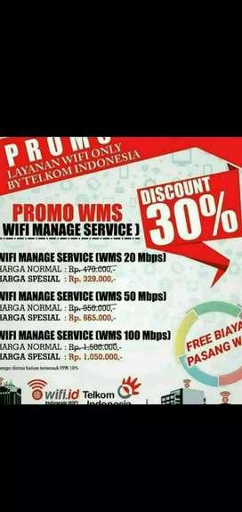 Pemasangan wifi.id atau UMS