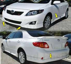 Toyota Corolla 2009-2011 Complete Bodykit available